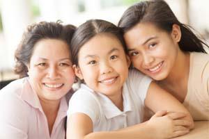 Grandma mother and daughter | Dentist in Columbus MS