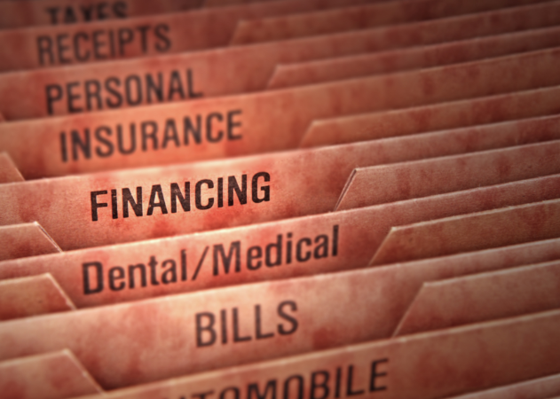 Financial Folders | Dentist Columbus MS