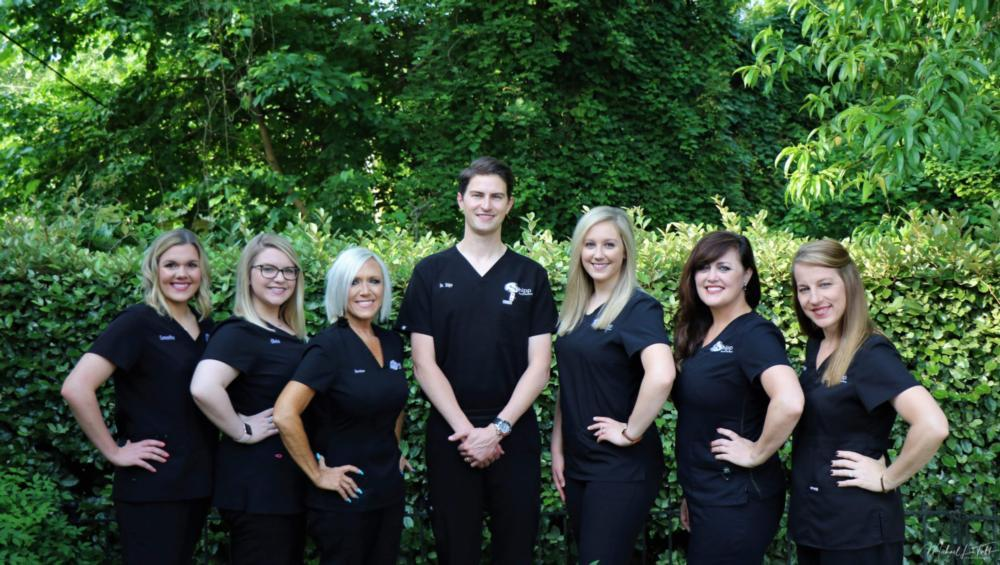 Shipp Family Dentistry team photo | Dentist Office in Columbus MS